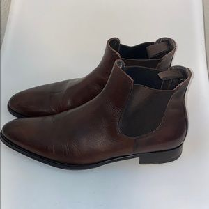 To Boot New York Brown Chelsea Boots size 11 EUC